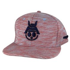 a4684b6c Caprobot Baby Samurai Knit Fly 3D Baseball Cap Snapback Hat - Red Navy Blue