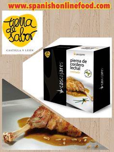 [ES] Pierna de Cordero Lechal Asada. www.spanishonlinefood.com/es/conservas/pierna-de-cordero-lechal-asada.html [EN] Suckling Lamb Leg. www.spanishonlinefood.com/en/preserves/suckling-lamb-leg.html [FR] Gigot D'agneau de Lait Roti. [DE] Gebratene Milchlammbeine. #Sof #ComidaEspañola #España #Cordero #Asado #Lechal #SpanishFood #Spain #SucklingLamb #Espagne #NourritureEspagnole #AgneauRoti #Spanien #SpanischesEssen #Gourmet #Delicatessen #Food #Foodies @tierradesabor Spanish Food Comida…