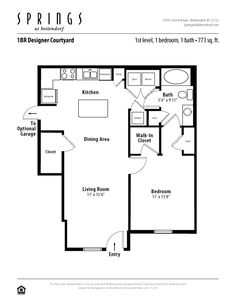 3 bedroom, 2 bath 1281 sf apartment at Springs at Bettendorf in ...