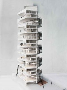 Writhing Tower / LYCS Architecture