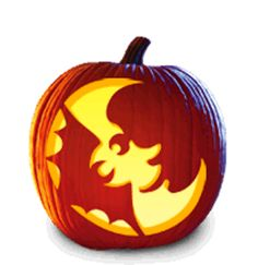 20 Fun & Free Pumpkin Carving Patterns for Kids