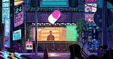[OC] New scene of Virtuaverse. Cyberpunk adventure by Theta Division Games http://ift.tt/2dKXr5n