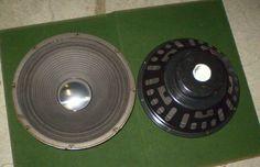 "PAIR vintage UTAH 12"" Speaker Woofers 8 ohm MH12PXC 1972 #UTAH"