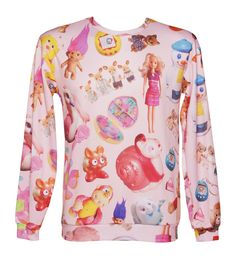 £39.99 EXCLUSIVE All Over Print Vintage Toys Jumper From Mr Gugu And Miss Go : TruffleShuffle.com