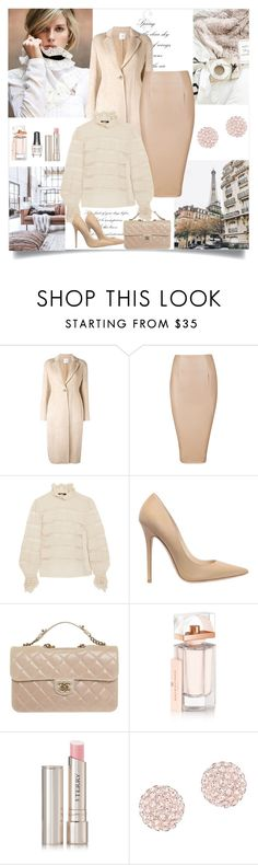 """""""Just say you won't let go"""" by danniss ❤ liked on Polyvore featuring Agnona, Isabel Marant, Jimmy Choo, Chanel, Balenciaga, Morgan Taylor, By Terry and Swarovski"""