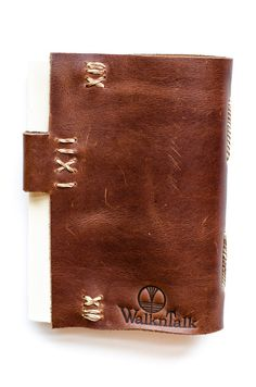 Leather Journal The Tom Sawyer Brown by WalknTalk on Etsy, $35.00