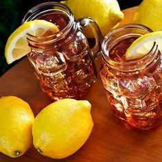 Sangria Iced Tea Ingredients: 20oz Lipton Peach Iced Tea 7.5oz Orange Juice 2.5oz Lime Juice 5oz Cranberry Juice 2 oranges, sliced Directions: 1. Combine all ingredients in a small pitcher. 2. Fill 4...