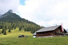 Die Berge haben in ganz Österreich – vom relativ flachen Osten bis zum Hochgebirge im Osten – eine sehr zentrale Bedeutung für Kultur und Alltagsleben de Cabin, Mountains, House Styles, Nature, Travel, Petting Zoo, Pilgrims, Paradise, Naturaleza