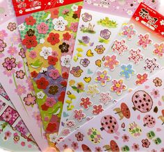 1Sheet Japan Sakura Oriental Cherry Blossom Diary Deco Scrapbooking Paper Masking Sticker H0307 #Affiliate