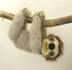 Slocombe the Sloth - Amigurumi Crochet Pattern