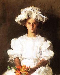Blue Ribbon - Abbott Handerson Thayer (American, 1849-1921)