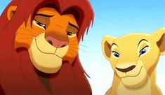 King Simba and Queen Nala Lion King Story, Lion King Simba's Pride, Lion King 2, Lion King Movie, Disney Lion King, Walt Disney, Disney Art, Disney Pixar, Disney And More