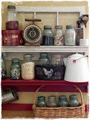 Pretty jars.