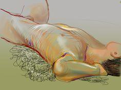 iPad drawing by Phil Lockwood.