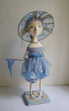 "Wonderful art doll ""Sea Miracle"""