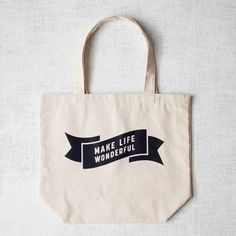 everlytrue:  [Market Tote Bag by West Elm]