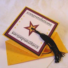 Two Happy Stampers: Graduation Card