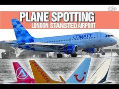 London Stansted Airport Plane Spotting - Atlas Global TUI Cobalt Funair ...