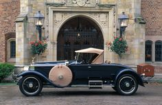 Rolls-Royce Silver Ghost (1921) by Springfield coachbuilder