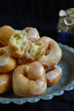Donuts, Sweets Cake, Cupcake Cakes, Cooking Cake, Cooking Recipes, Beignets, Christmas Bread, Sweet Dough, Peruvian Recipes