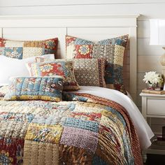One day I'm going to hack this Spice Garden Quilt & Sham from Pier 1 Imports.