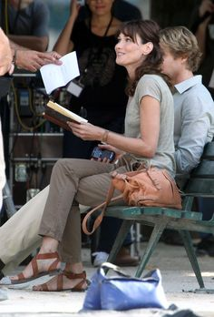 Carla Bruni in Midnight in Paris.