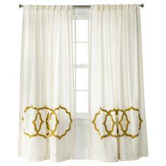 Curtains On Pinterest Geometric Curtains Grommet