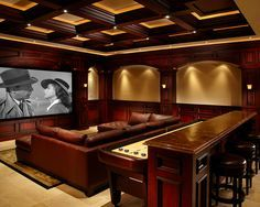 12 best Theater/Bar Room Ideas images on Pinterest | Movie theater ...