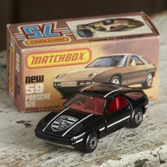 A Matchbox Superfast Porsche 928 no:59. Comes with original box a great example from the 80's in mint condition. A great collectors piece.