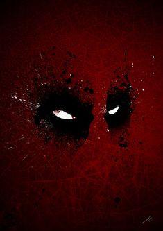 Paint Splatter Villaines : Deadpool by Arian Noveir Marvel Art, Marvel Dc Comics, Marvel Heroes, Deadpool Wallpaper, 3d Wallpaper 4k, Phone Wallpapers, Desktop, Splatter Art, Bd Comics
