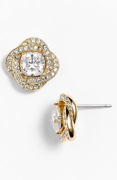 Nadri Twist Stud Earrings (Nordstrom Exclusive) available at #Nordstrom