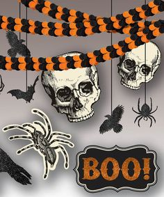 Take a look at this Giant Halloween Décor Set by Amscan on #zulily today!