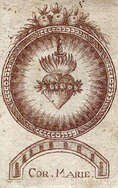 Corazón de María.