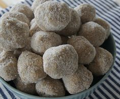 No Bake Lemon Balls by planningqueen, via Flickr