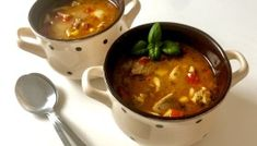 Zupa gyros Cheeseburger Chowder, Thai Red Curry, Food And Drink, Beef, Dinner, Cooking, Ethnic Recipes, Dhal, Party