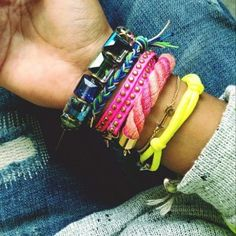 Leather bracelets for your arm swag. http://launchgrowjoy.com/sewsephine/#