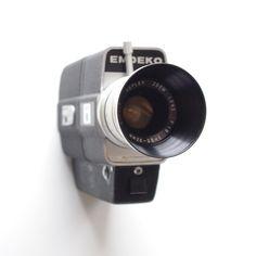 Emdeko Super 8mm Movie Camera - Zoom Lens - Cinema by ThisCharmingManCave on Etsy  https://www.etsy.com/listing/288866651/emdeko-super-8mm-movie-camera-zoom-lens
