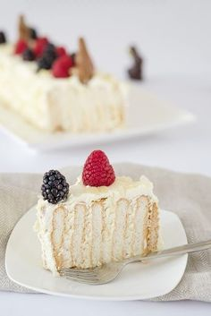 No bake taart met Mascarpone Pudding Desserts, No Bake Desserts, Pie Cake, No Bake Cake, Pinterest Dessert Recipes, Baking Recipes, Cake Recipes, Dessert Blog, Thermomix Desserts