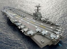 An image of the forthcoming USS Enterprise (CVN 80). If we keep it up, we'll get to the Starship Enterprise before we know it.