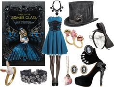 Through the Zombie Glass - http://myfashionobsessedlookbook.blogspot.com/2013/11/book-looks-3-through-zombie-glass-by.html
