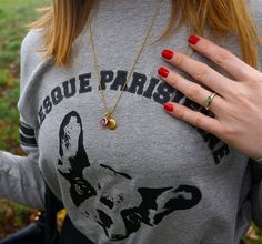 Today's details. See more on the blog: http://www.kathrinerostrup.dk/2013/11/presque-parisienne/