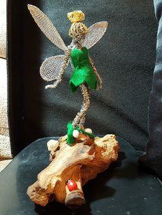 Avebury Mystical Wire Sculpure Artist | New Faeries