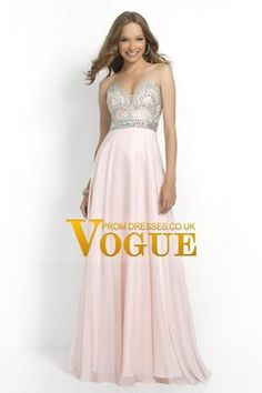 2015 Sweetheart Beaded Bodice A-Line Chiffon Prom Dresses Floor-Length USD 199.99 VUPC8685SM - VoguePromDressesUK for mobile