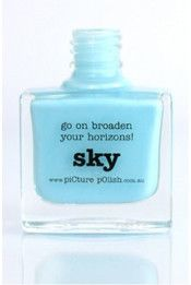 Picture Polish shade: Sky