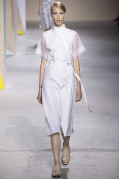 Boss Spring 2016 Ready-to-Wear Fashion Show - Natalie Westling