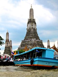 "Wat Arun Rajwararam ""Temple of Dawn"", Bangkok, Thailand"