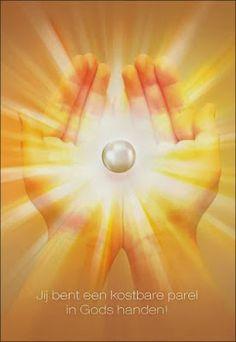 """JEZUS en MARIA Groep.: WEES BEREID OM GODS ROEPSTEM TE VOLGEN:/""""JE BENT EEN KOSTBARE PAREL IN GODS HANDEN!""""/"""