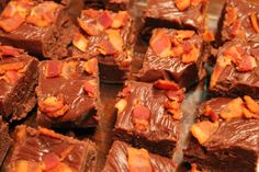 Can't Fail Fudge - with Bacon