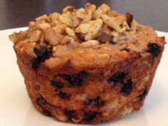 Blueberry Oat Protein Muffins (Bakery Size) - The Kitchen Table - The Eat-Clean Diet®
