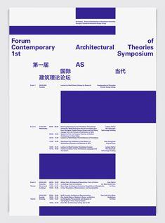 Forum of Contemporary Architectural Theories, 1st Symposium - Twelve